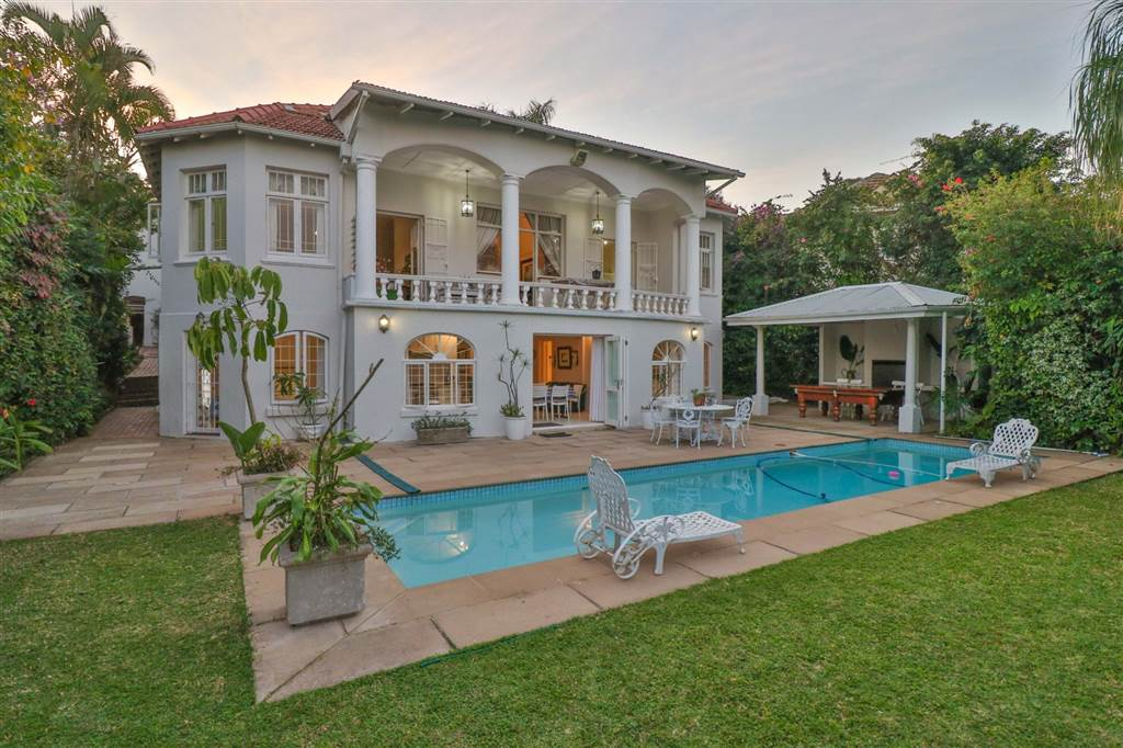 Gorgeous & grand house for sale in Musgrave, Durban